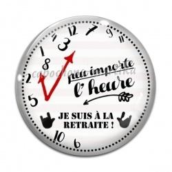 Cabochon Verre - retraite