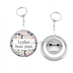 Porte clés décapsuleur - le plus beau papa