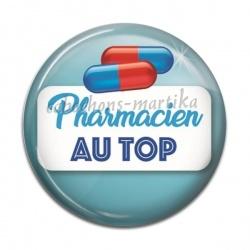 Cabochon Résine - pharmacien au top