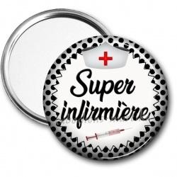 Miroir de poche - super infirmière