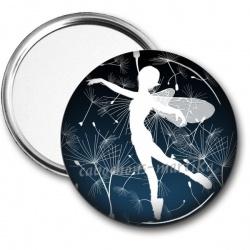 Miroir de poche - pissenlit