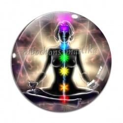 Cabochon Verre - méditation