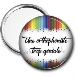 Miroir de poche - une orthophoniste trop géniale
