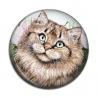 Cabochon Résine - chat