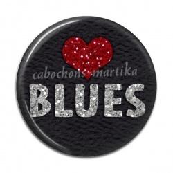 Cabochon Résine - musique blues