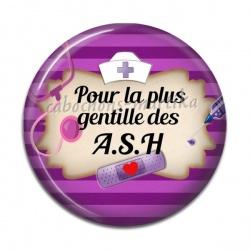 Cabochon Résine - pour la plus gentille des A.S.H