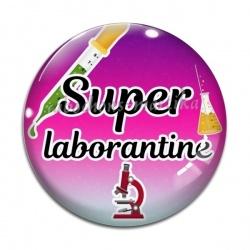 Cabochon Verre - super laborantine