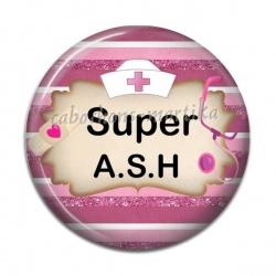 Cabochon Résine - super ash