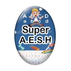 Cabochon Verre Ovale -  super A.E.S.H