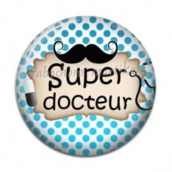 Cabochon Résine - super docteur