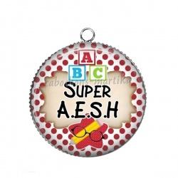 Pendentif Cabochon Argent - super A.E.S.H