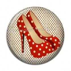 Cabochon Résine - chaussure