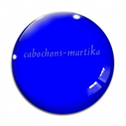 Cabochon Verre - unie