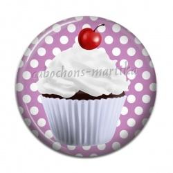 Cabochon Résine - cup cake