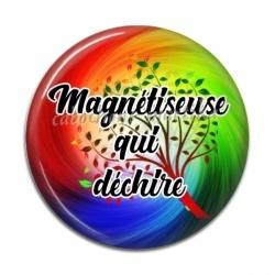 Cabochon Résine - Magnétiseuse qui déchire