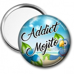 Miroir de poche - addict mojito