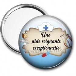 Miroir de poche - aide soignante exceptionnelle
