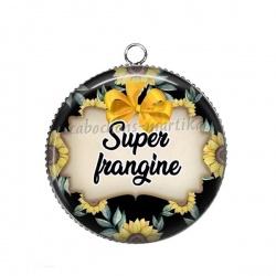 Pendentif Cabochon Argent - super frangine