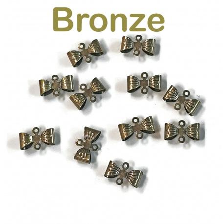 10 connecteur noeud bronze