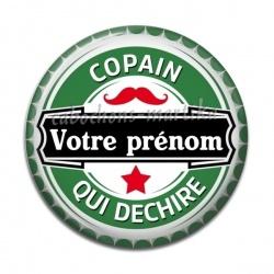 Cabochon Résine - personnalisable copain