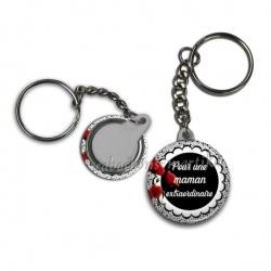 Porte clés - pour une maman extraordinaire