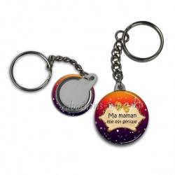 Porte clés - ma maman elle est géniale