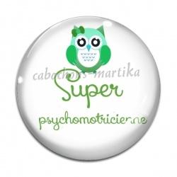 Cabochon Verre - psychomotricienne
