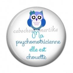 Cabochon Résine - psychomotricienne