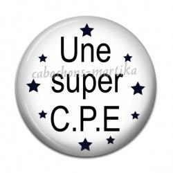 Cabochon Résine - une super C.P.E