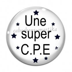 Cabochon Verre - une super C.P.E