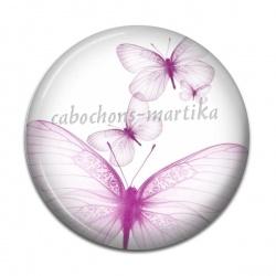 Cabochon Résine - papillon f