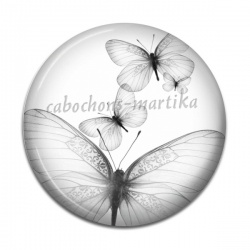 Cabochon Résine - papillon