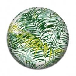 Cabochon Résine - palmier