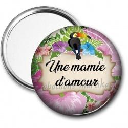 Miroir de poche - une mamie d'amour
