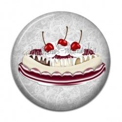 Cabochon Résine - gâteau