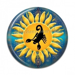Cabochon Résine - Astrologie
