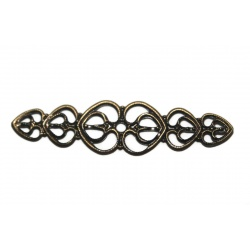 1 Estampe filigrame métal bronze