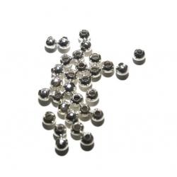 30 Perles métal 5 mm