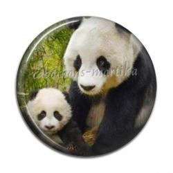 Cabochon Résine - Panda