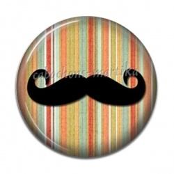 Cabochon Résine - moustache
