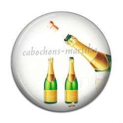 Cabochon Résine - Bonne année