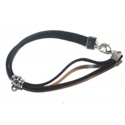 Bracelet suédine et sa perle breloque