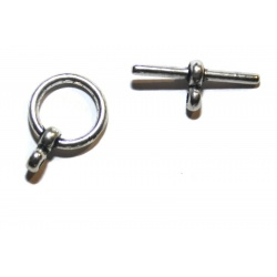 5 Fermoirs toggles 18 mm