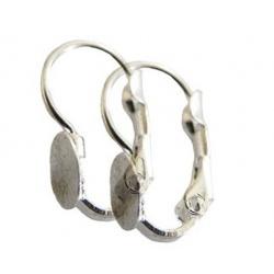 10 supports dormeuses plateaux boucles d'oreilles