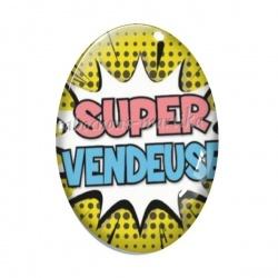 Cabochon Verre Ovale - super vendeuse