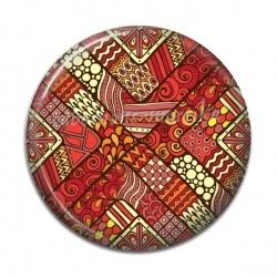 Cabochon Résine - Amérindiens Afrique
