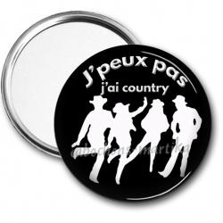 Miroir de poche - j-peux-pas-j-ai-country