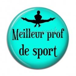 Cabochon Résine - meilleur prof de sport