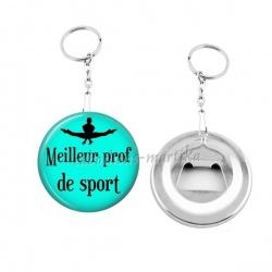 Porte clés décapsuleur - meilleur prof de sport