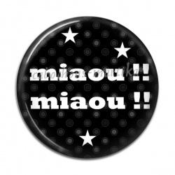 Cabochon Résine - miaou !!! miaou !!!